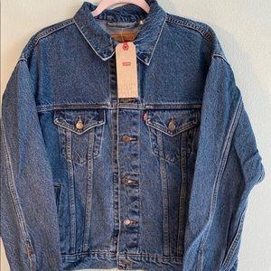 NWT Levi's Denim Jean Jacket Size L